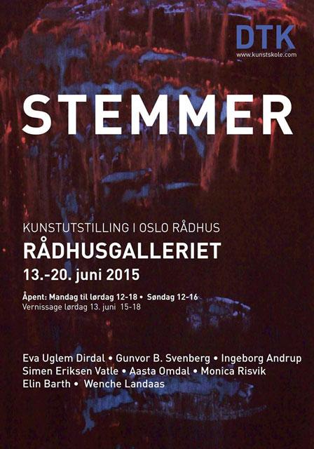 Plakat utstilling 2015