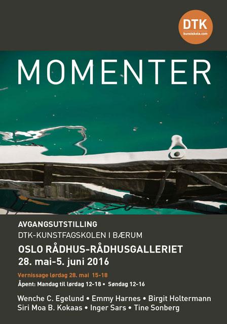 Plakat avgangsutstilling 2016