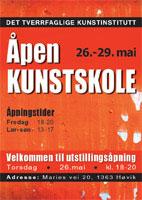 Plakat utstilling vinter 2011