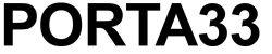 Logo Porta 33 Kunstfagskolen i Bærum